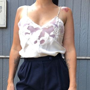 Vintage lingerie camisole Small